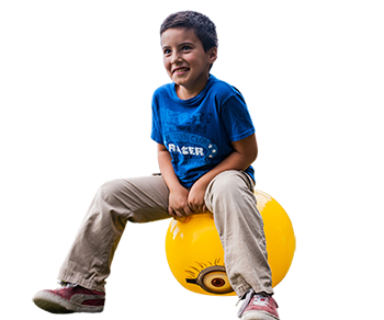 Payaso Play Balls glasfirma